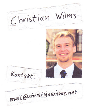 Christian Wilms Kontakt: mail[at]christianwilms.net